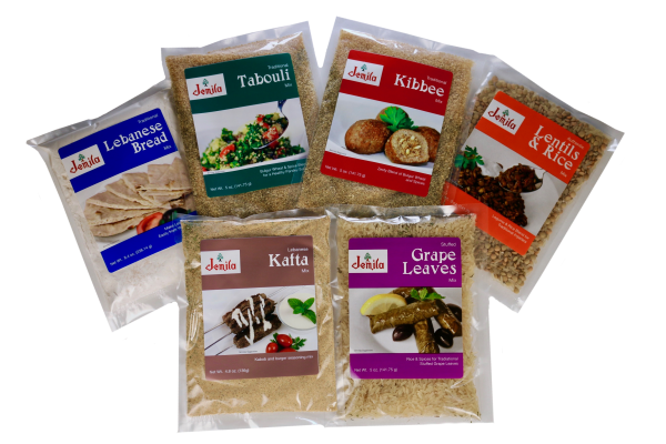 Jemila Foods Lebanese Sampler Middle Eastern Food Mixes